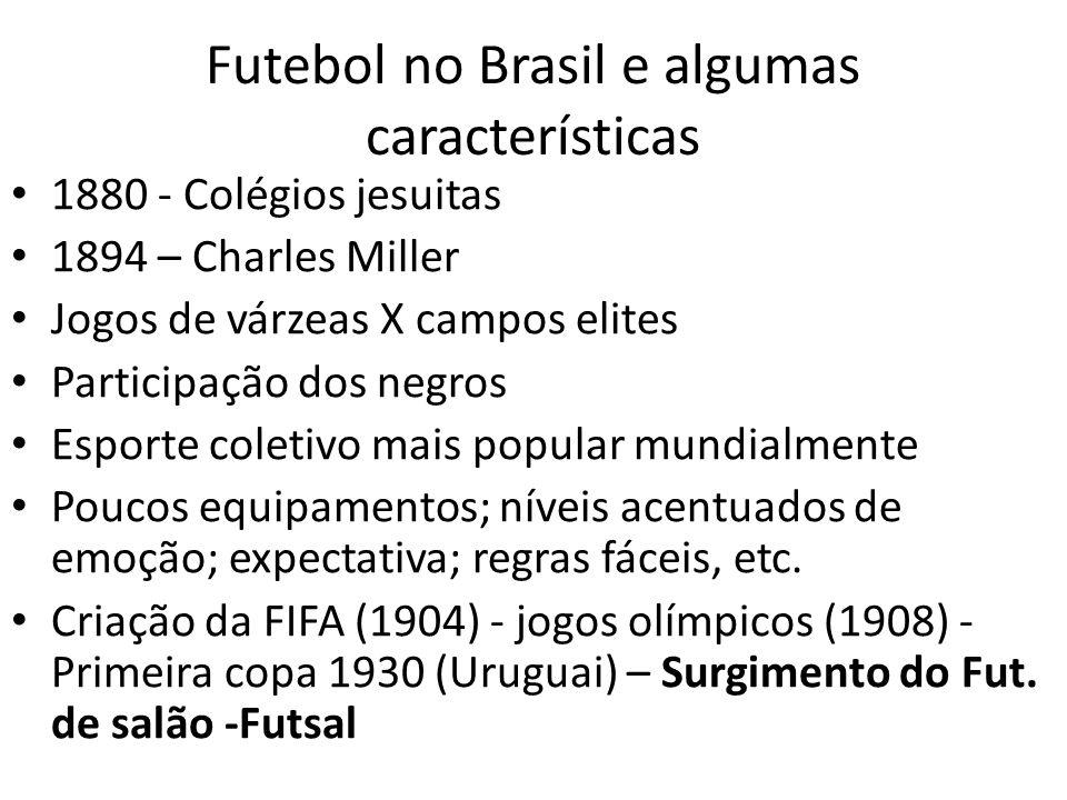 Futebol no Brasil e algumas características