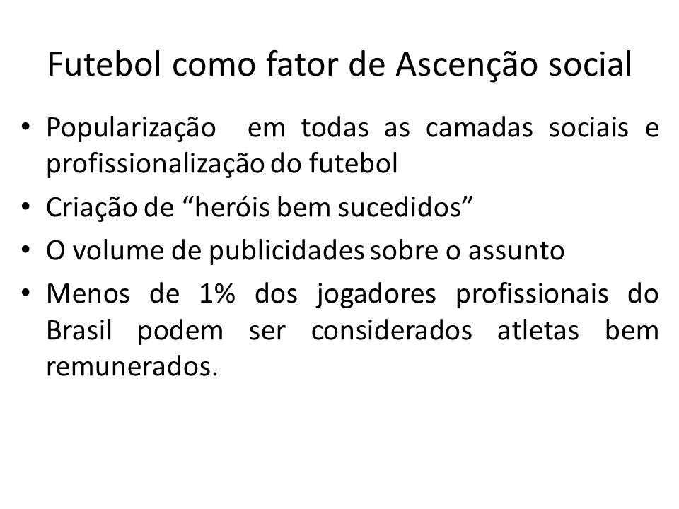 Futebol como fator de Ascenção social