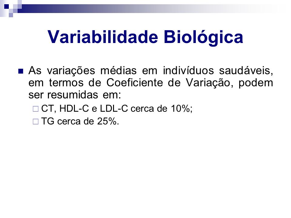 Variabilidade Biológica