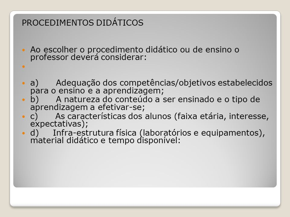 tipos de metodos de ensino aprendizagem pdf