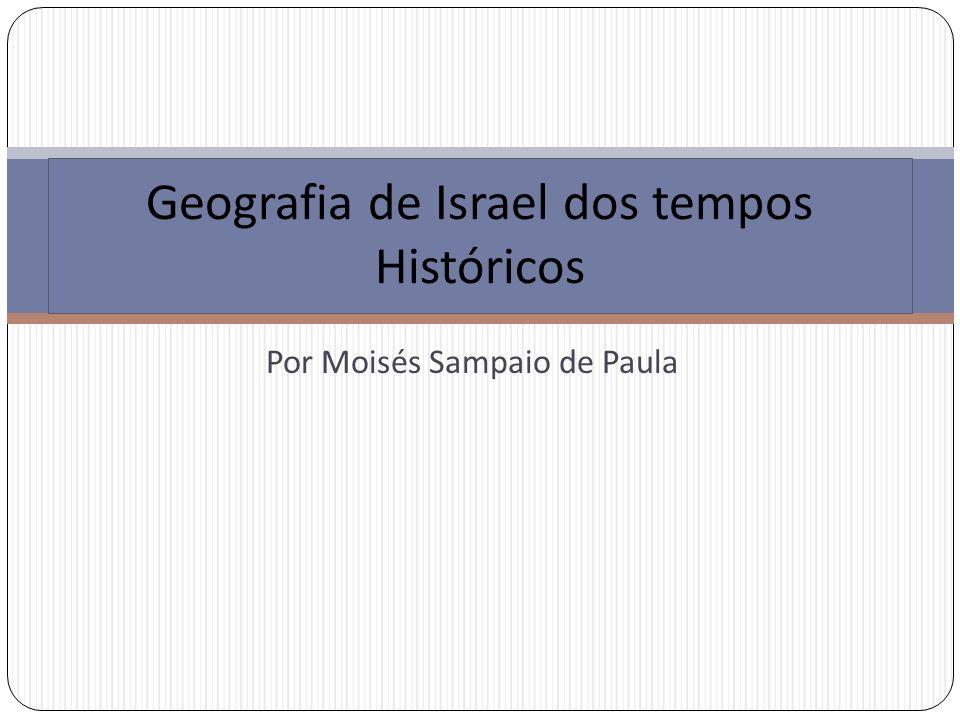 Geografia de Israel dos tempos Históricos