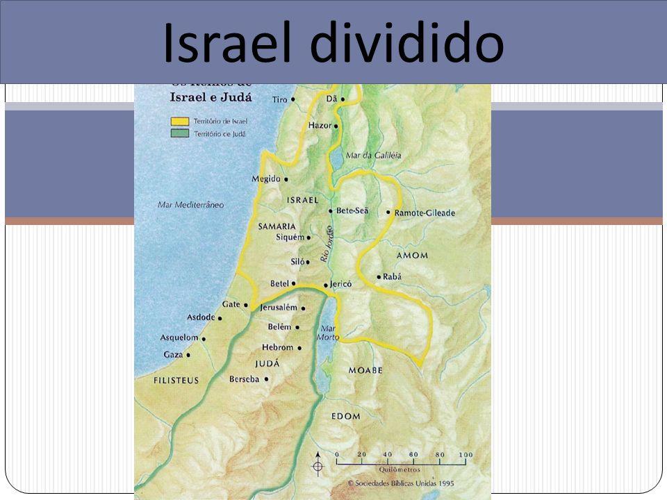 Israel dividido