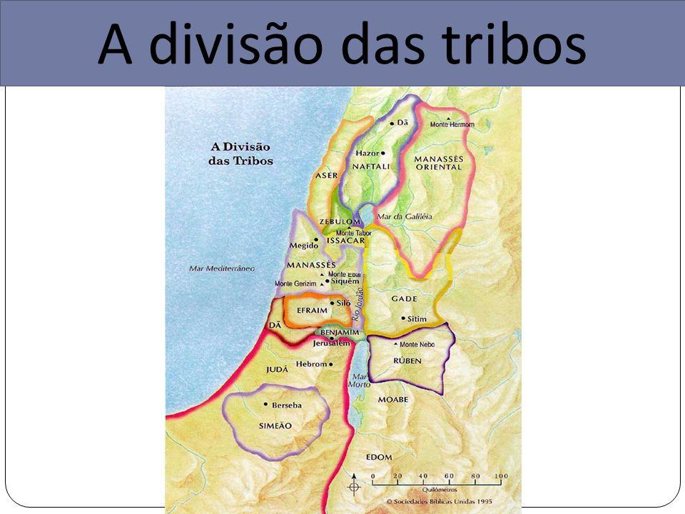 A divisão das tribos