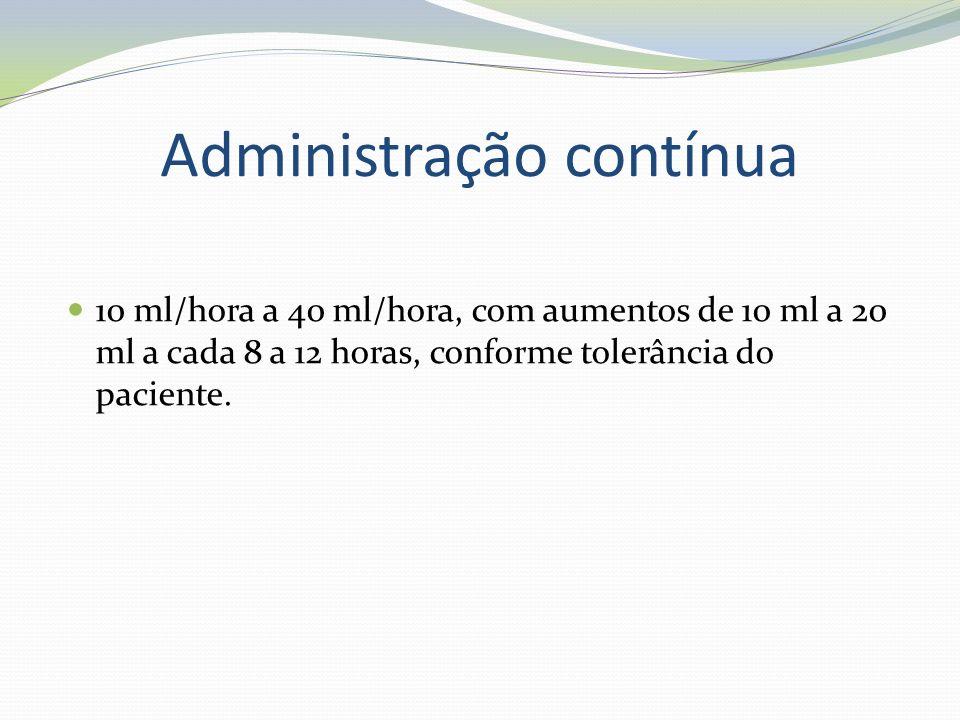 Administração contínua