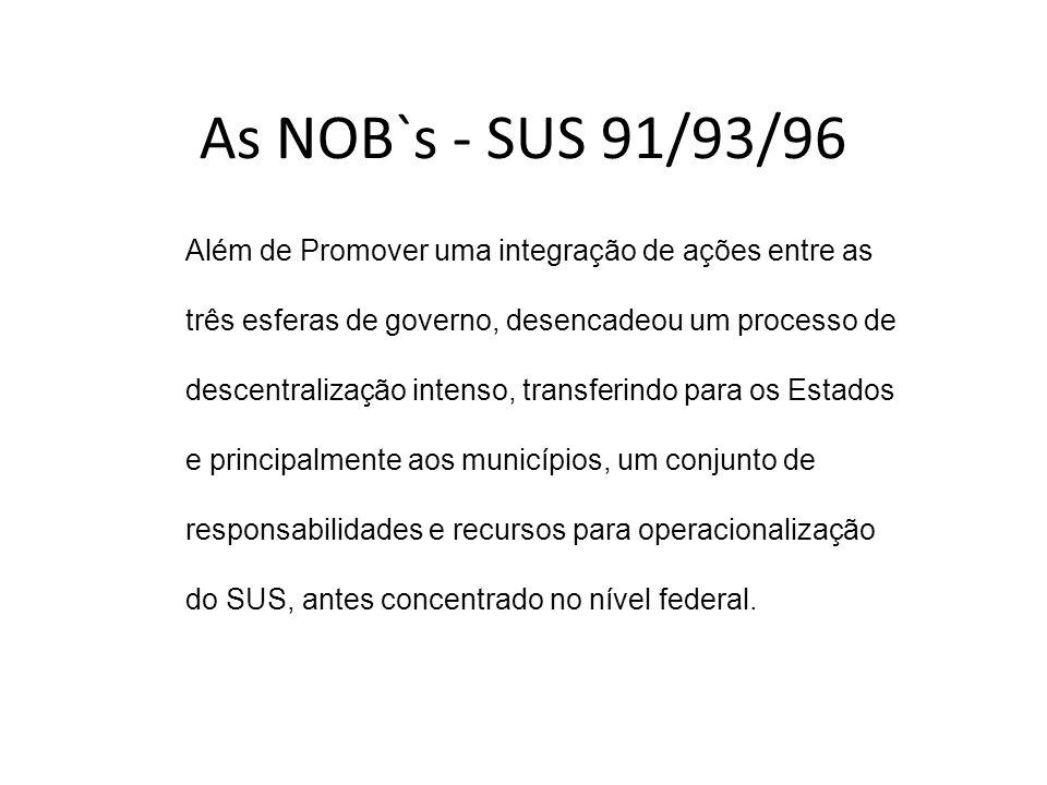 As NOB`s - SUS 91/93/96