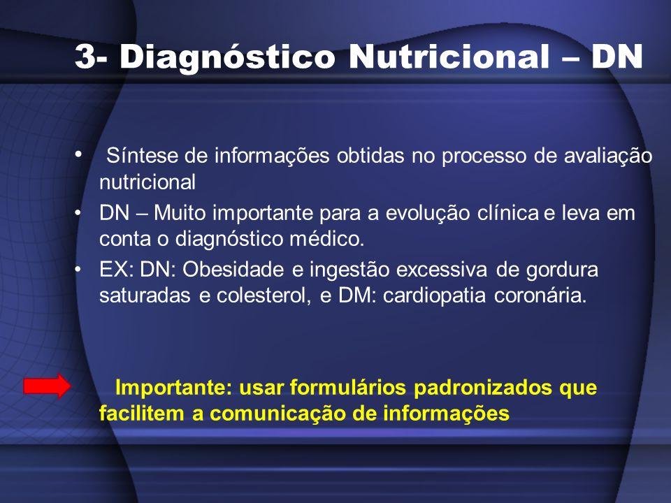 3- Diagnóstico Nutricional – DN