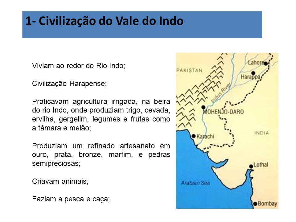 1- Civilização do Vale do Indo