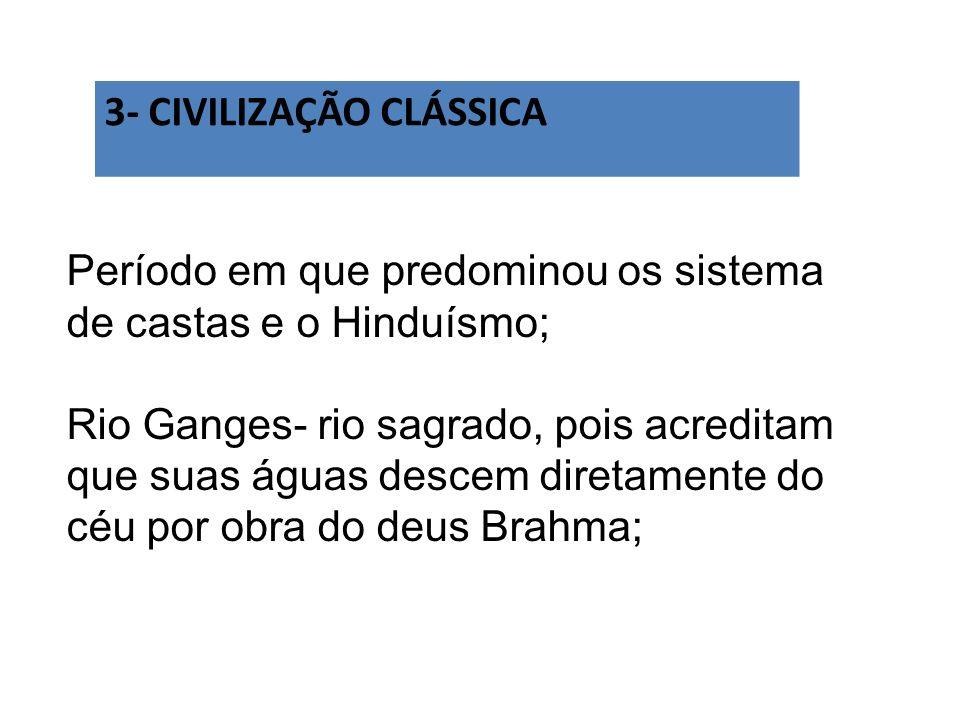 3- CIVILIZAÇÃO CLÁSSICA