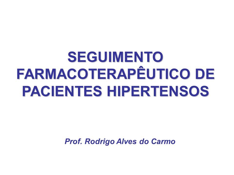 SEGUIMENTO FARMACOTERAPÊUTICO DE PACIENTES HIPERTENSOS