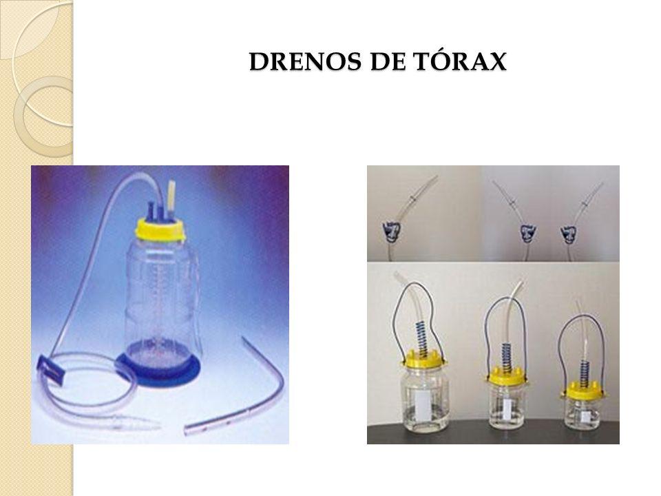 DRENOS DE TÓRAX
