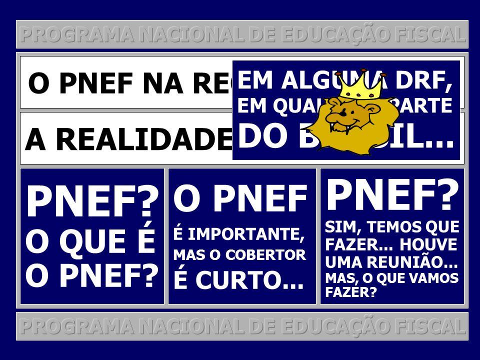 PNEF PNEF O PNEF DO BRASIL... O QUE É O PNEF