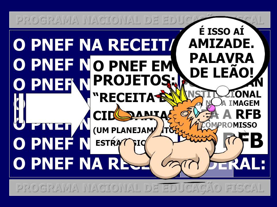 O PNEF NA RECEITA FEDERAL: