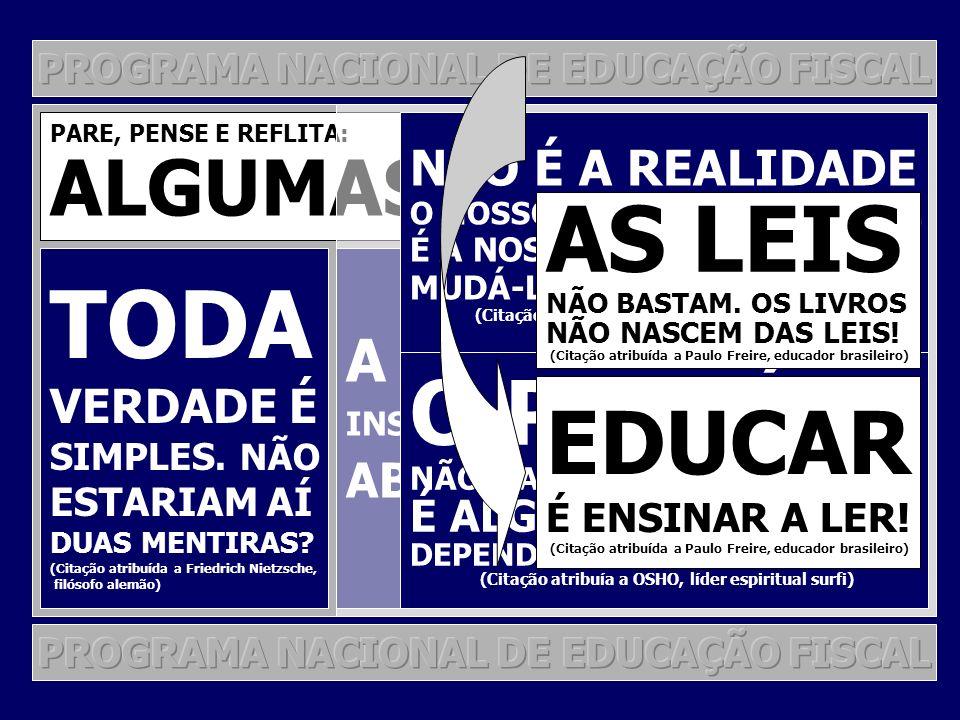 TODA AS LEIS O PARAÍSO EDUCAR ALGUMAS REFLEXÕES A VIA BLOQUEADA,