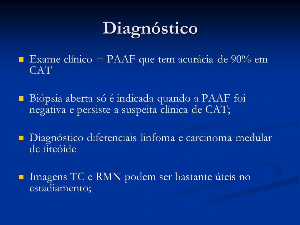 Exame paaf