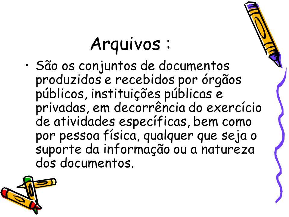 Arquivos :