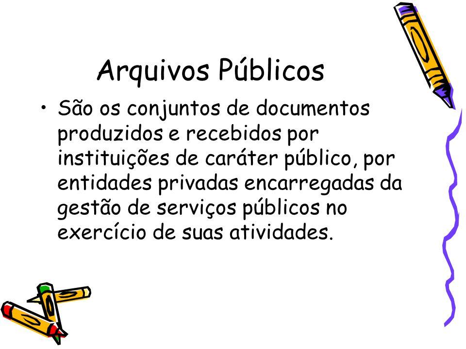 Arquivos Públicos