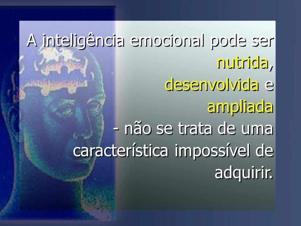 A inteligência emocional pode ser