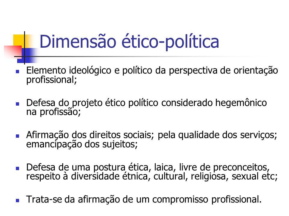 Dimensão ético-política
