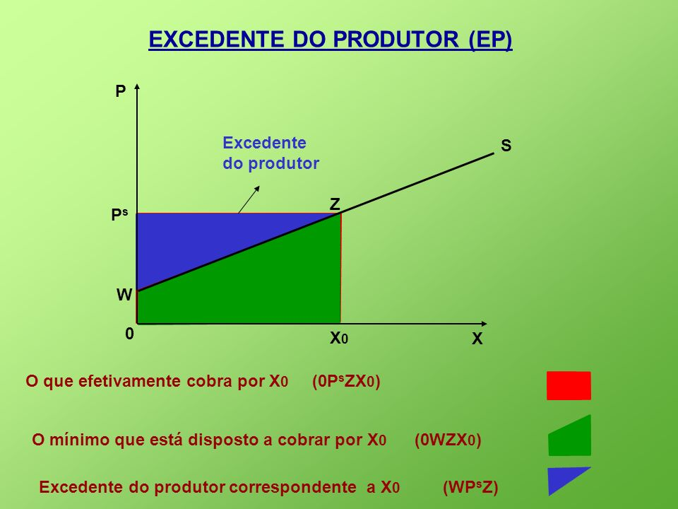 EXCEDENTE DO PRODUTOR (EP)
