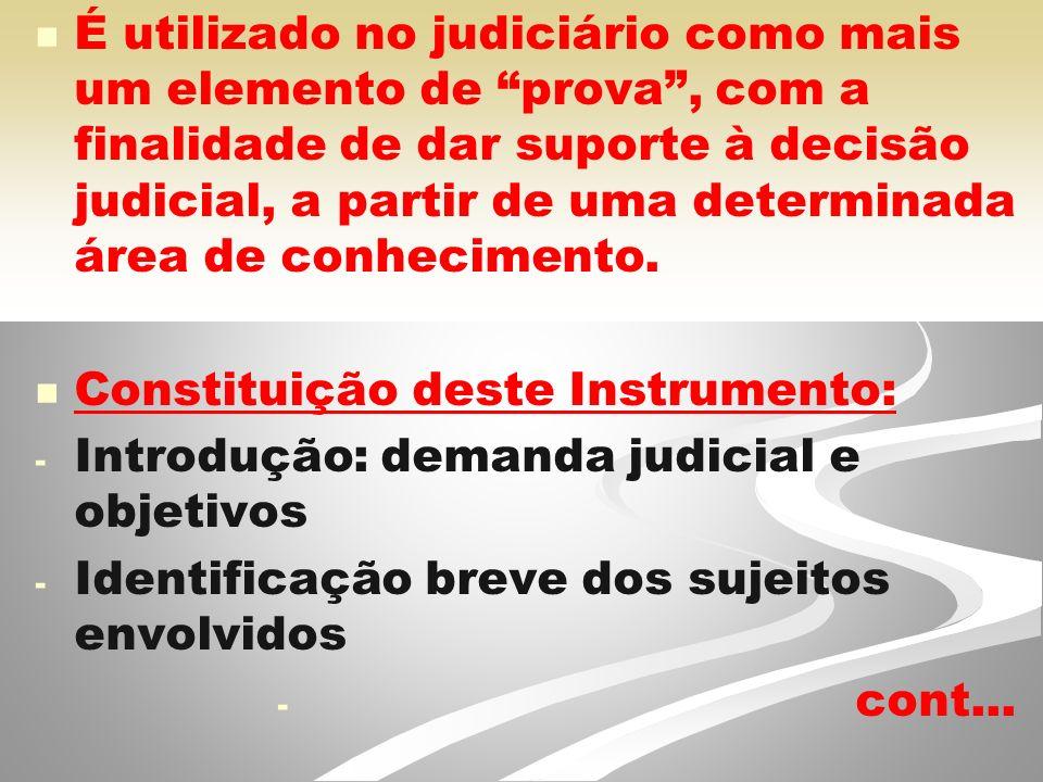 Constituição deste Instrumento: