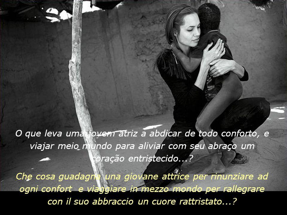 O que leva uma jovem atriz a abdicar de todo conforto, e viajar meio mundo para aliviar com seu abraço um coração entristecido...