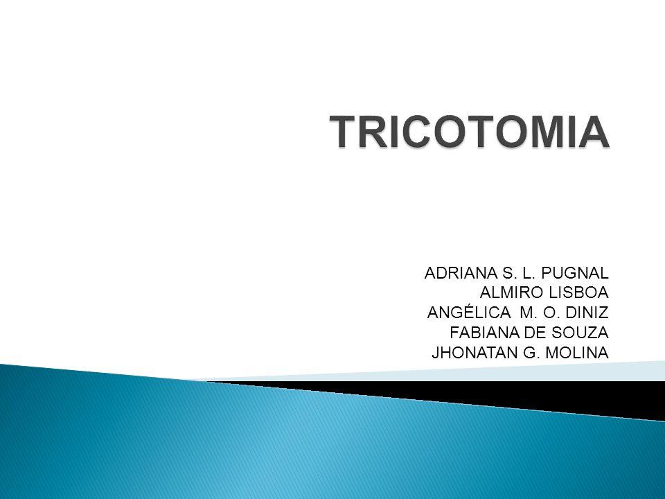 TRICOTOMIA ADRIANA S. L. PUGNAL ALMIRO LISBOA ANGÉLICA M. O. DINIZ