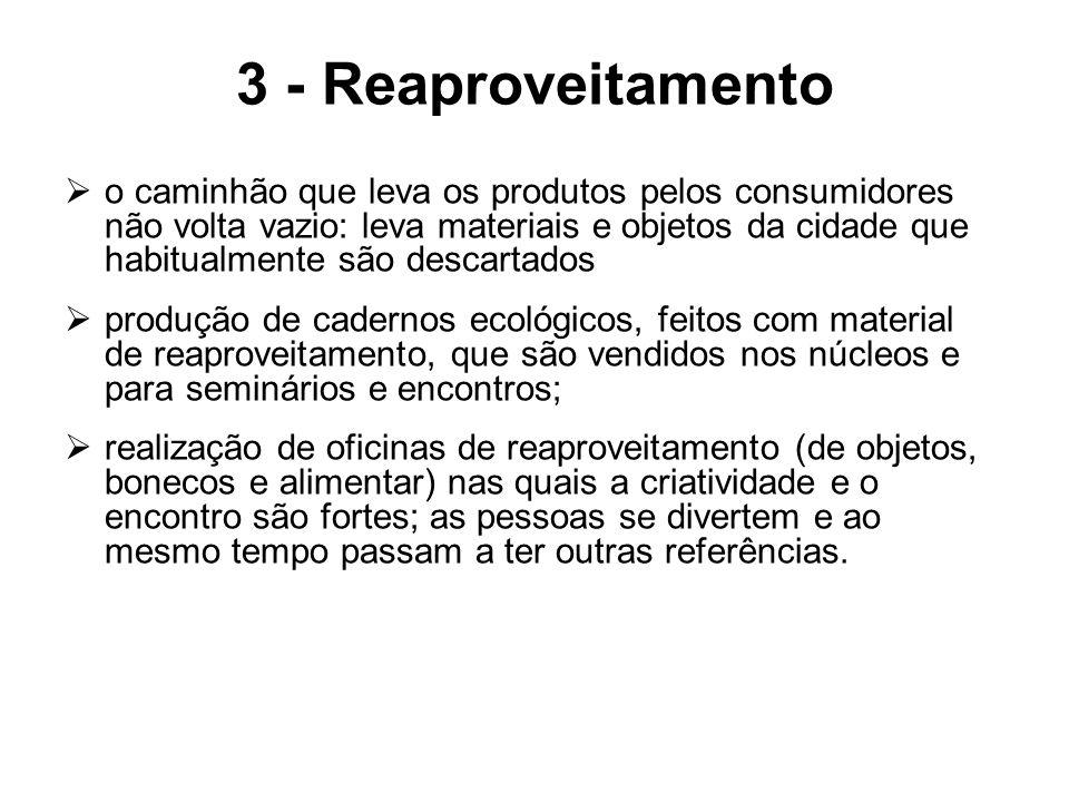 3 - Reaproveitamento