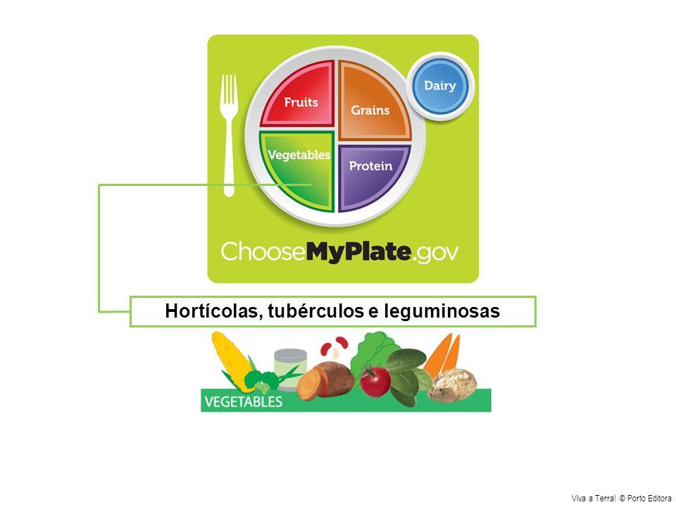 Hortícolas, tubérculos e leguminosas