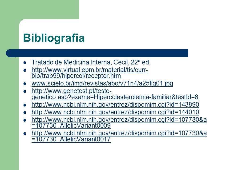 Bibliografia Tratado de Medicina Interna, Cecil, 22º ed.