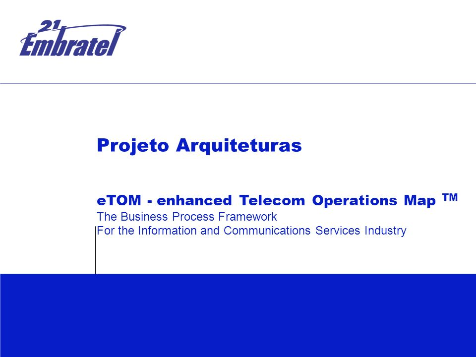 the enhanced telecom operations map etom Etom and tam are just two examples of tm forum standards others tm   enhanced telecom operations map (etom) etom is a map of.