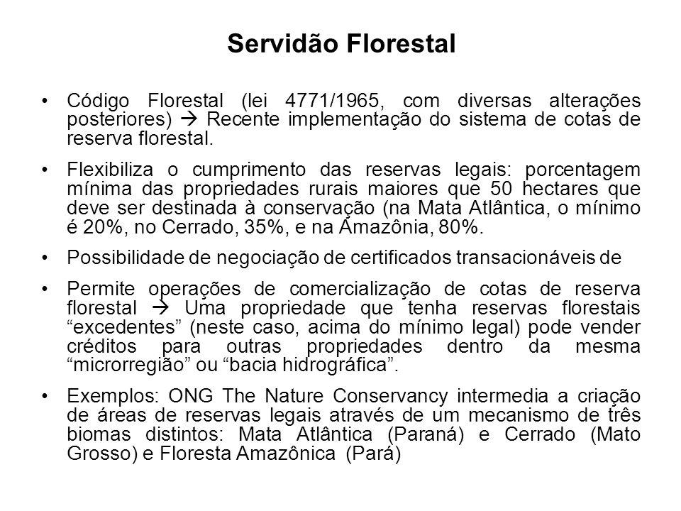 Servidão Florestal