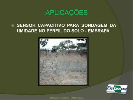 SENSOR CAPACITIVO - UFRN/CT/DEE