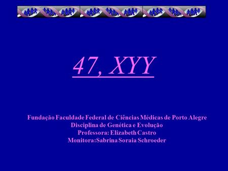 47 XYY syndrome  Genetic and Rare Diseases Information