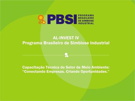 O que é Simbiose Industrial?