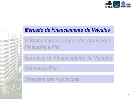 Mercado de Financiamento de Veículos