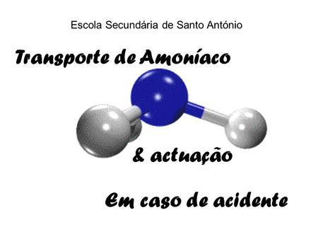 Transporte de Amoníaco