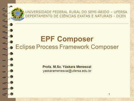 EPF Composer Eclipse Process Framework Composer