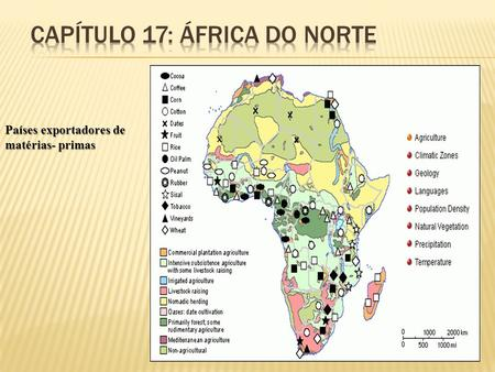 Capítulo 17: ÁFRICA do norte