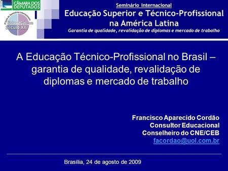 0eeb9e795e4 Educação Profissional Técnica de Nível Médio para a Saúde - ppt carregar