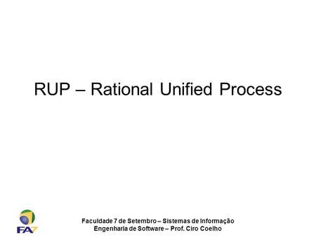 RUP – Rational Unified Process