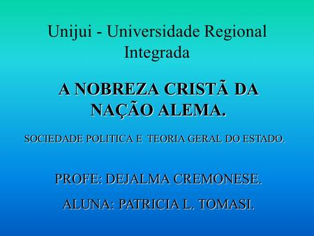 Unijui - Universidade Regional Integrada
