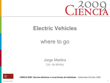 Electric Vehicles where to go