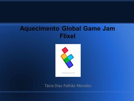 Aquecimento Global Game Jam Flixel