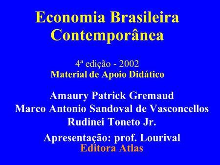 Livro Economia Brasileira Contemporanea Pdf