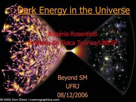 Dark Energy in the Universe