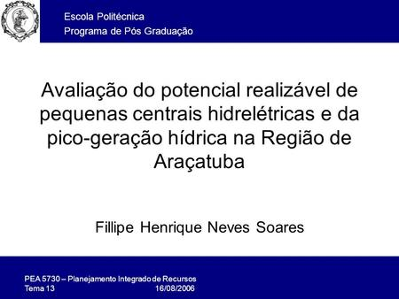 Fillipe Henrique Neves Soares