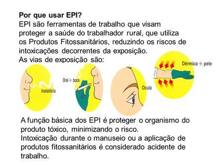 Por que usar EPI  EPI são ferramentas de trabalho que visam proteger a saúde  do 4e7f87dc62