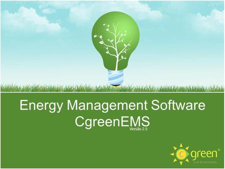 Energy Management Software CgreenEMS