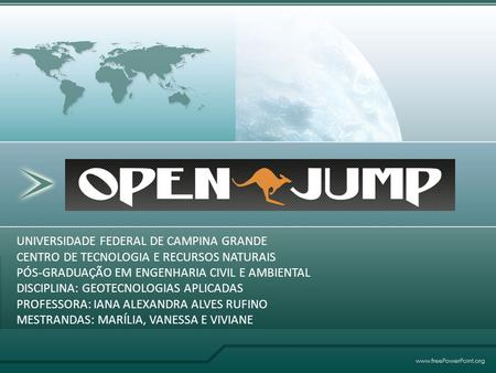 OPENJUMP UNIVERSIDADE FEDERAL DE CAMPINA GRANDE