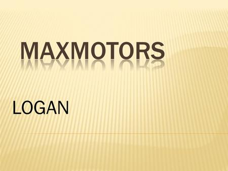 MAXMOTORS LOGAN.